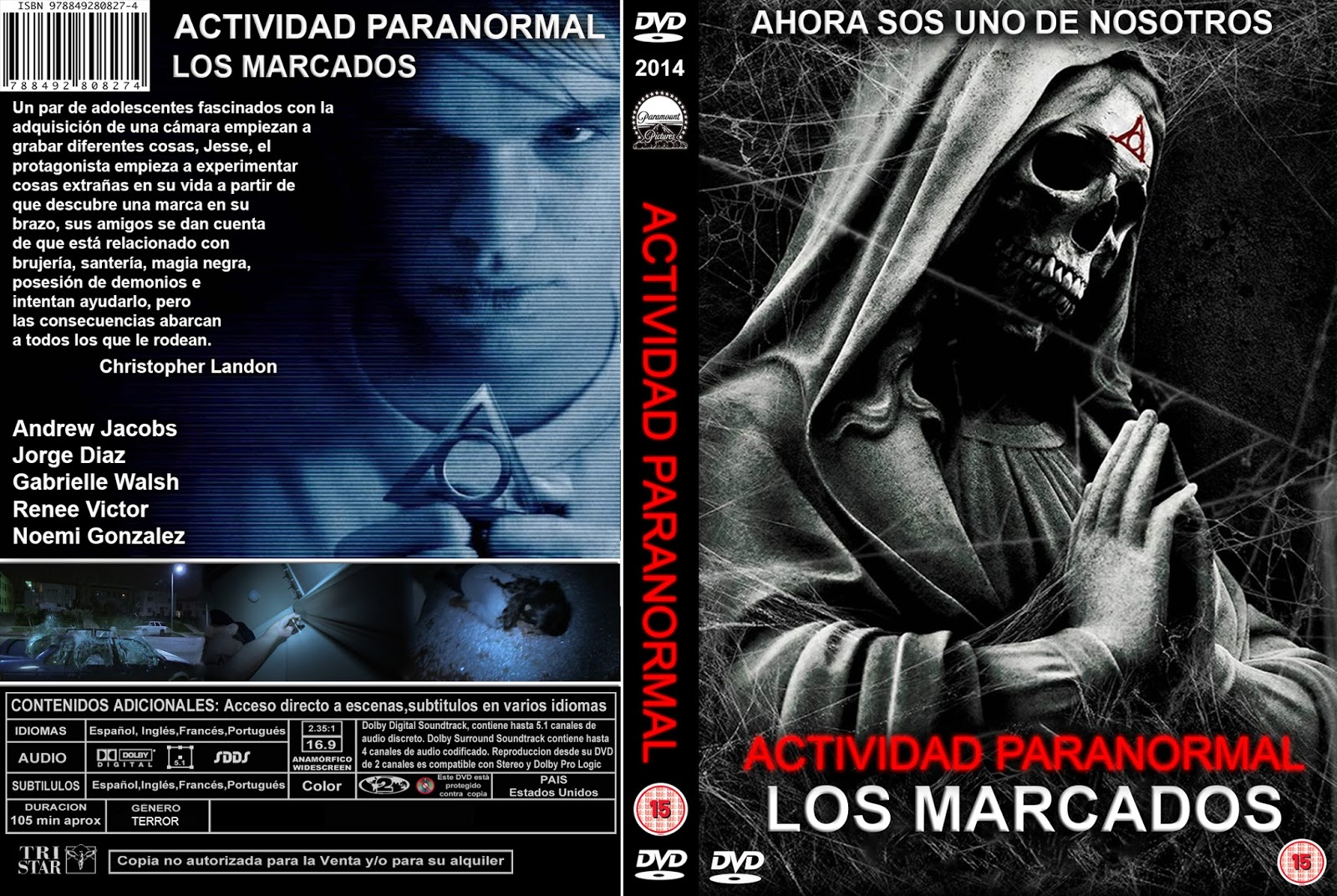 paranormal activity marked ones dvd cover - photo #3