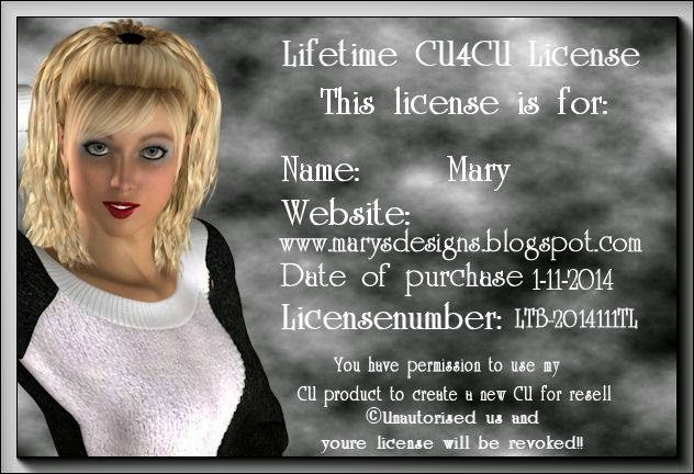 My LTBCreations CU License