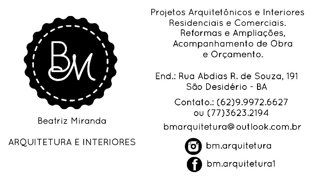 Beatriz Miranda | Arquitetura e Interiores