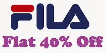 Flat 40% Off on Men's Fila Clothing & F Sports Flipflops just for Rs.399 Only @ Flipkart (For Today Only)