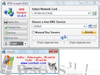 DNS Jumper 1.04 2