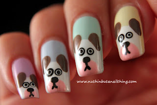 Dog Nail Art Tutorial