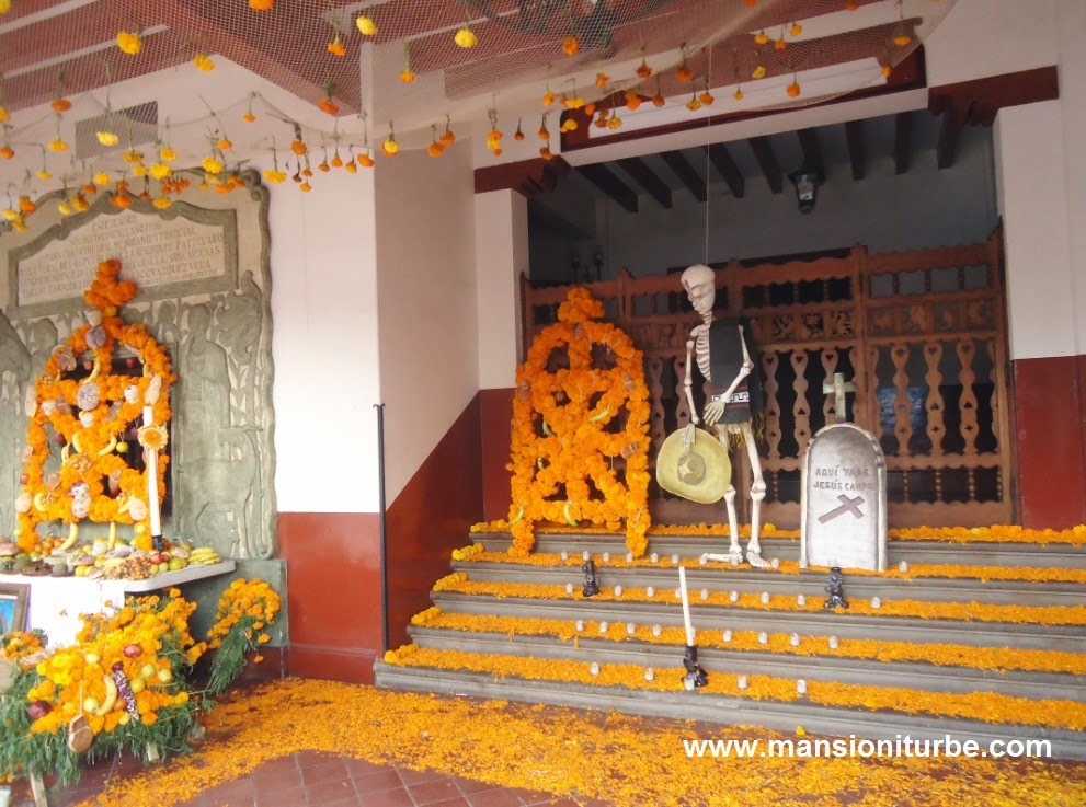 Ofrendas de Día de Muertos en Pátzcuaro