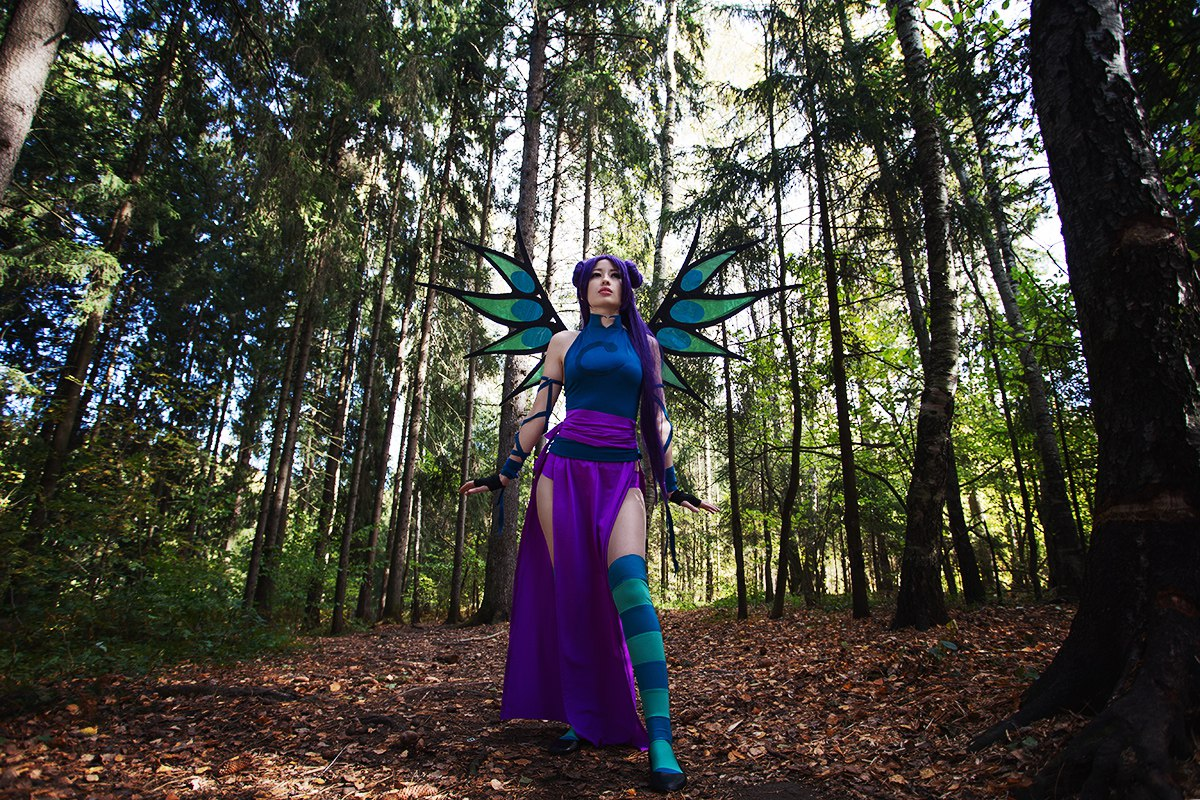 W.i.t.c.h hay lin cosplay