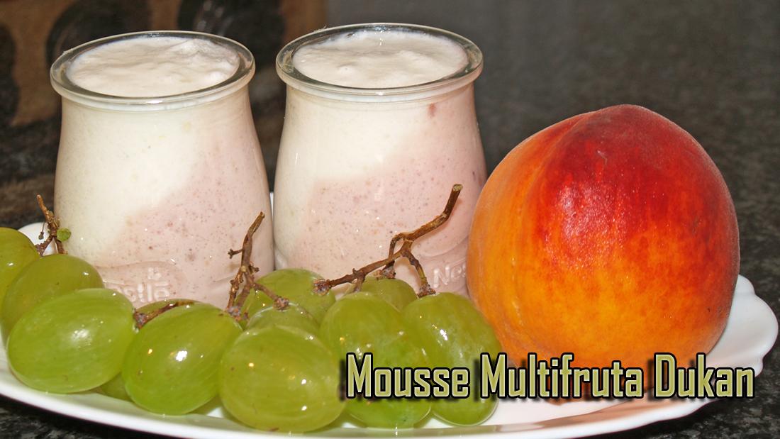 Mousse Multifrutas Dukan