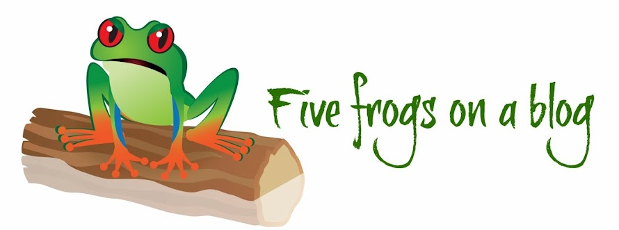 Five Frogs on a Blog
