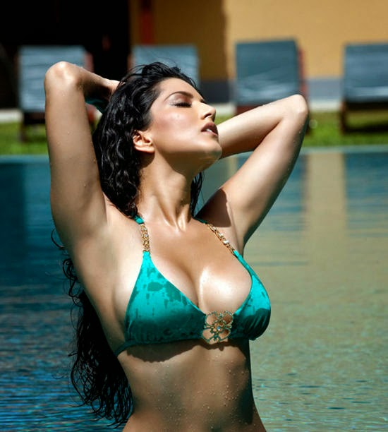 Splitsvilla 7 Girl Sunny Leone Hot and Sexy HD Wallpaper