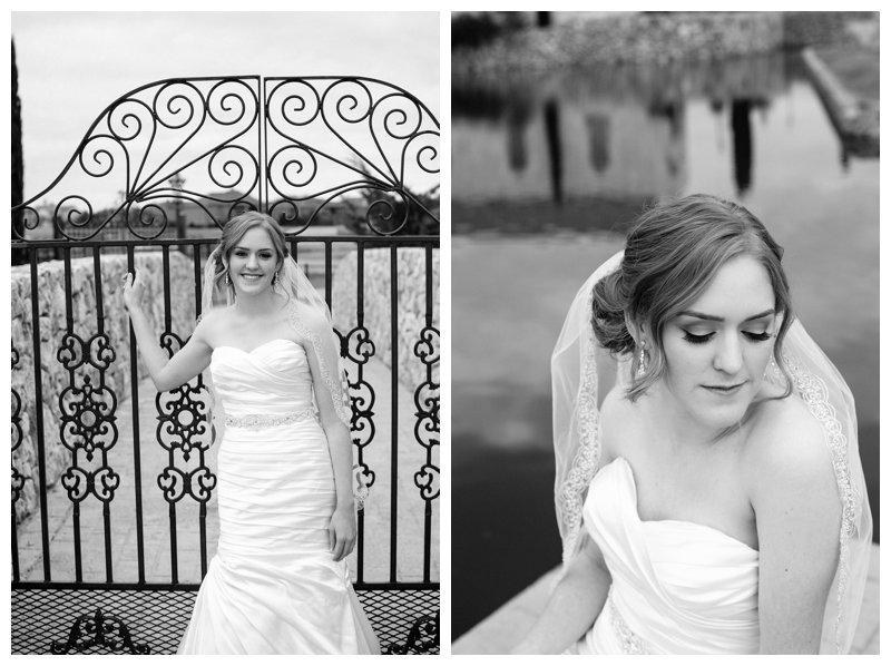 Christine's Elegant Bridal Portraits at Adriatica in McKinney, Texas by Mary Cyrus Photography