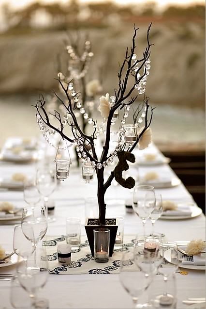 Crystal manzanita tree stunning centerpieces or decor