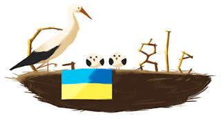 Google вітає Україну з Днем Незалежності