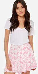 http://www.lulus.com/products/true-bud-pink-floral-print-skater-skirt/130442.html