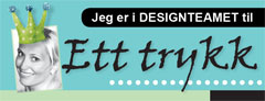 TIDLIGERE DESIGNER FOR ETT TRYKK