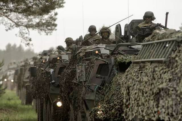 Military News - U.S. weighing military exercises in Eastern Europe