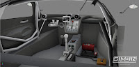Pagani Zonda R GTR3 renders 7