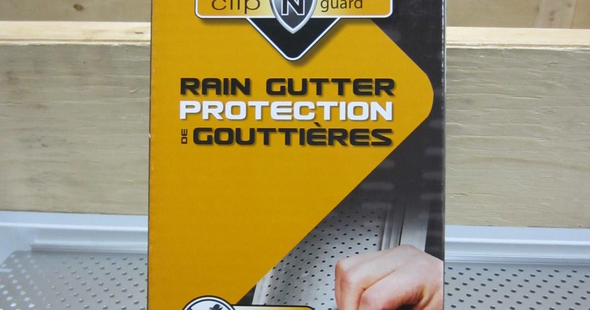K Guard Clog Free Gutters