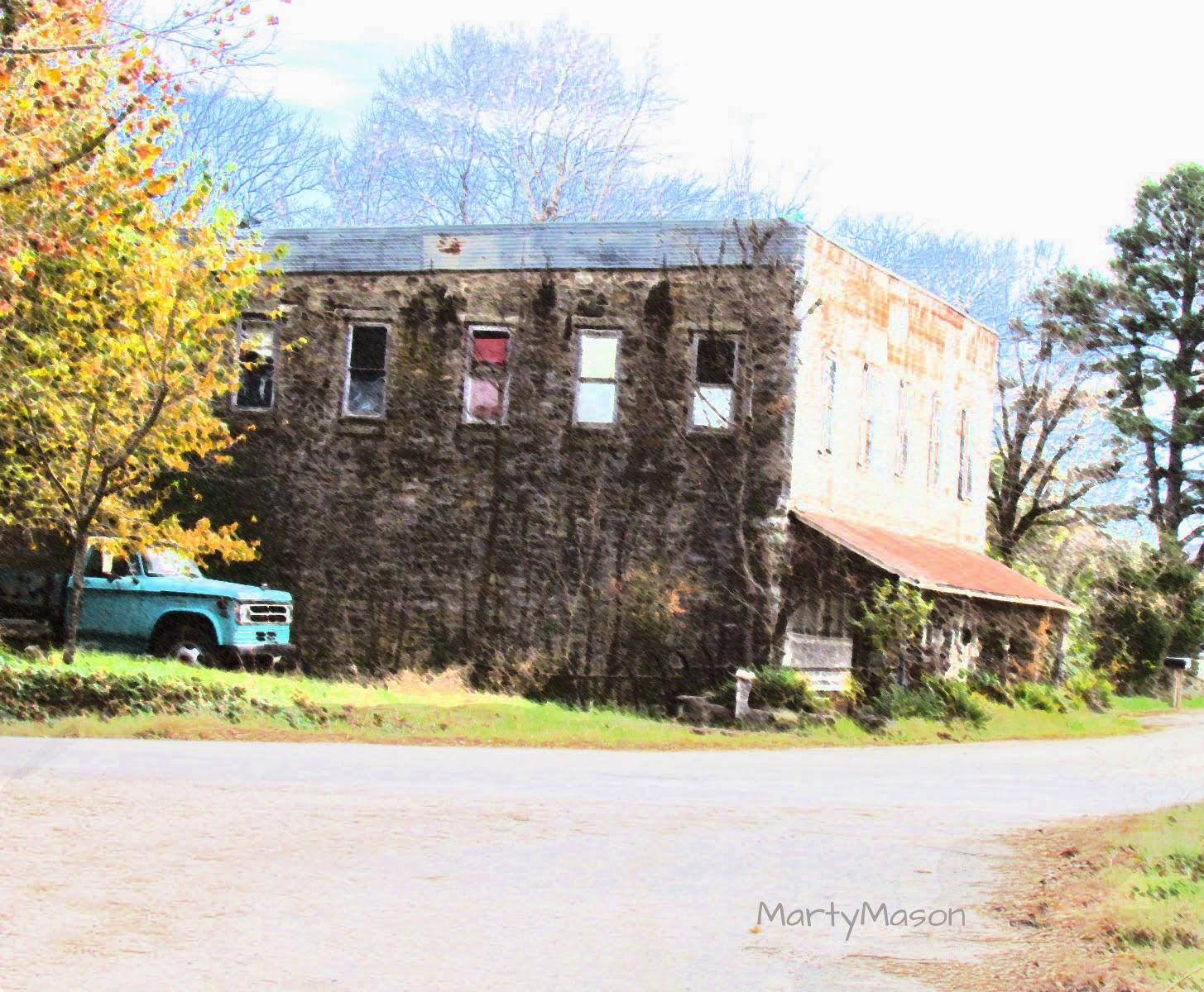 Abandoned Building in Parthenon, Arkansas