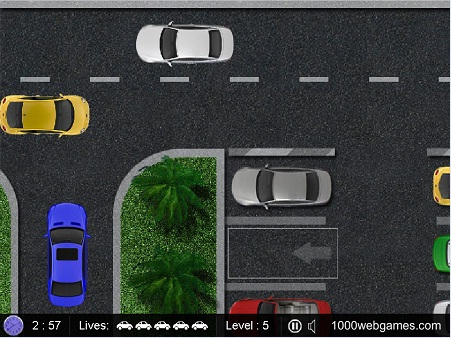 Download Gratis Game Parking Space : Game 2D Simulasi Parkir Mobil