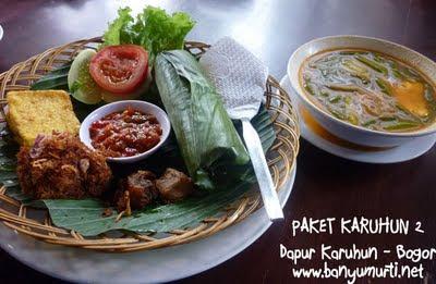 Kuliner Bogor - Dapur Karuhun