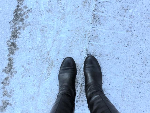 Franco Sarto Boots, Vancouver BC Trip, Boots, Boots in Snow, black boots, black boots in snow