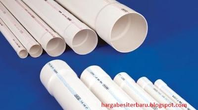 Pipa PVC Berbagai Ukuran