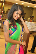 Anukruthi Glam pics in half saree-thumbnail-17