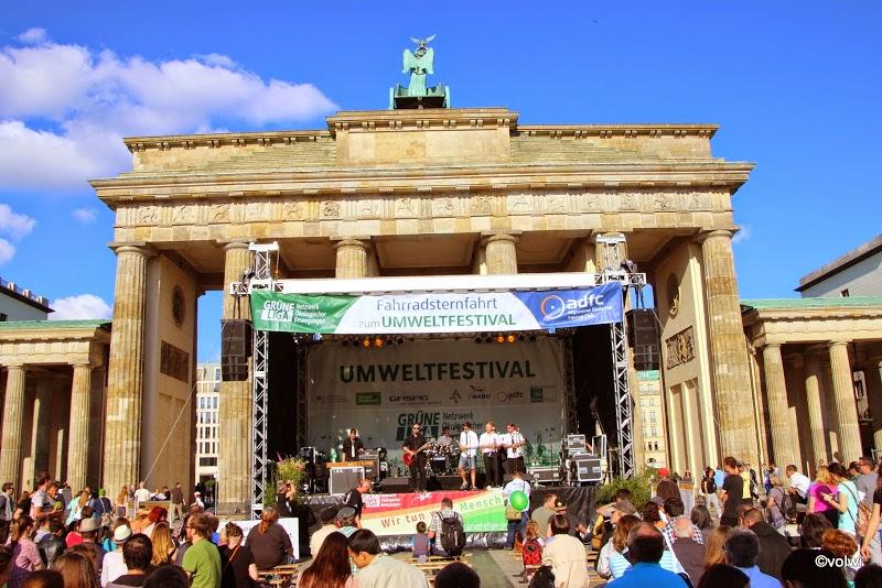 Umweltfestival 2014: Bühne am Brandenburger Tor