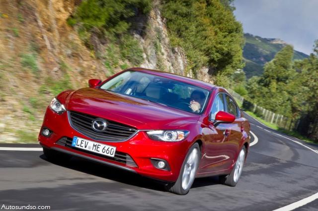 Testbericht Mazda6 2.2l Skyactiv-D129 kW Drive
