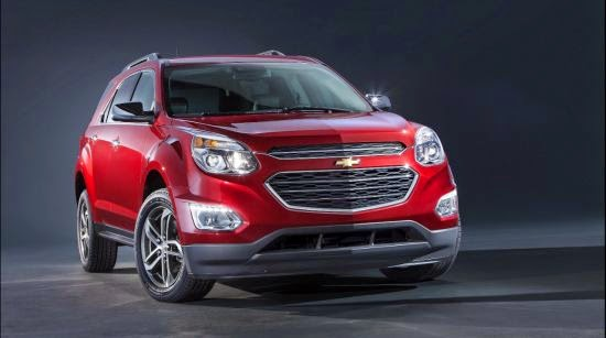 Chevrolet Unveils a Completely Restyled 2016 Equinox