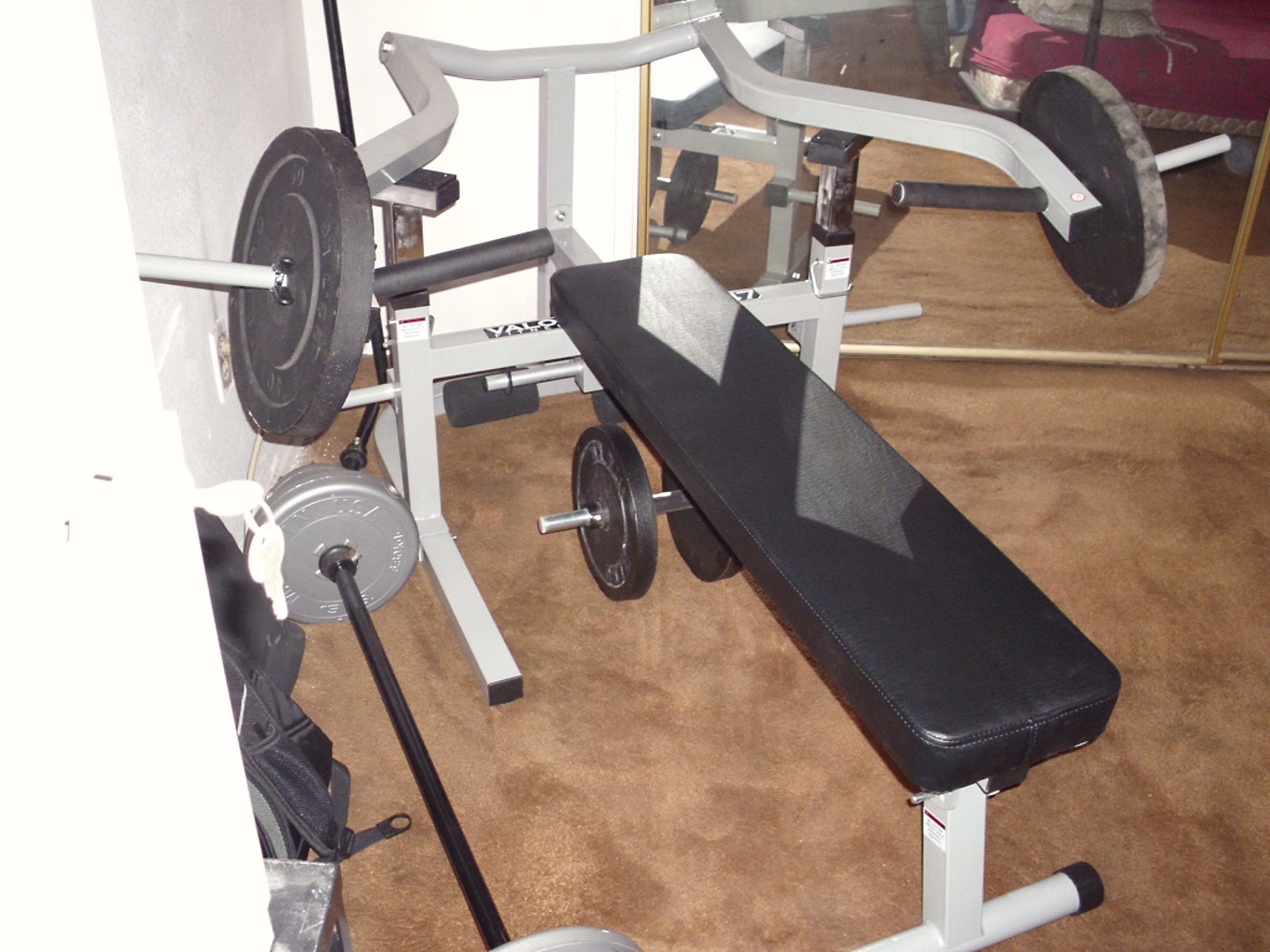 thoughts about life and running a new safe bench press