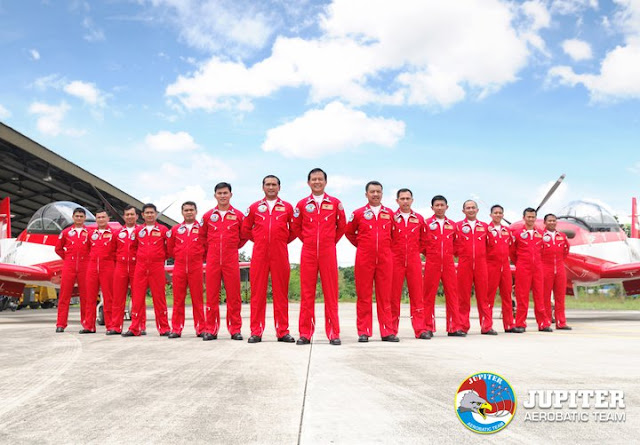 Jupiter Aerobatic Team akan tampil di Malaysia