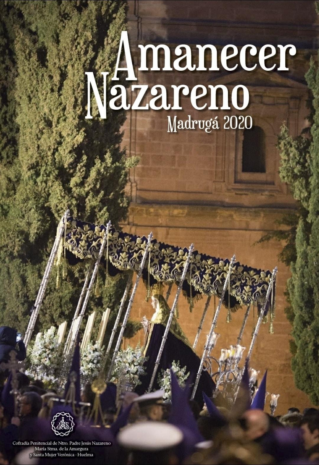 """CARTEL DEL VIERNES SANTO AMANECER NAZARENO, """"LA MADRUGÁ"""" 2020"""