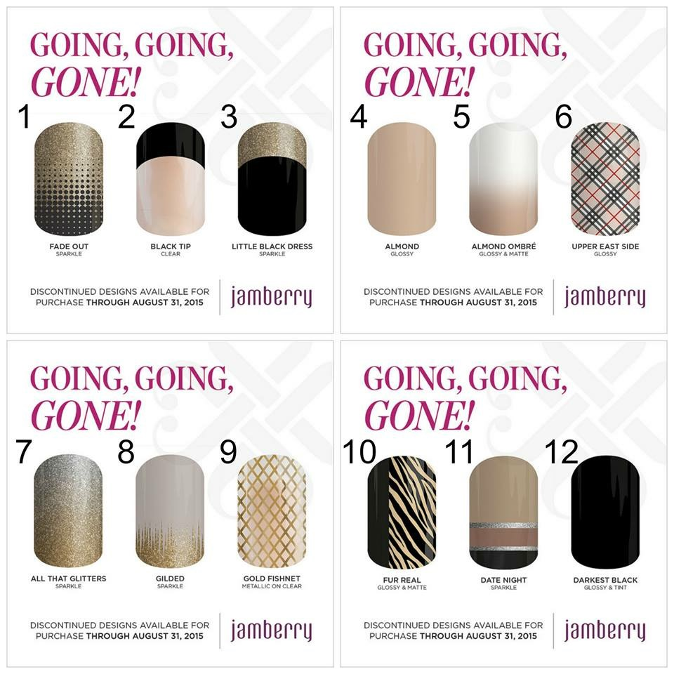 The Kerrie Show: *2015* Fall Jamberry\'s Retiring Wraps List: Going ...