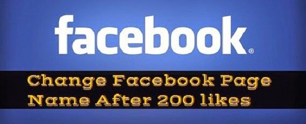 change facebook page name after 200 likes image picture