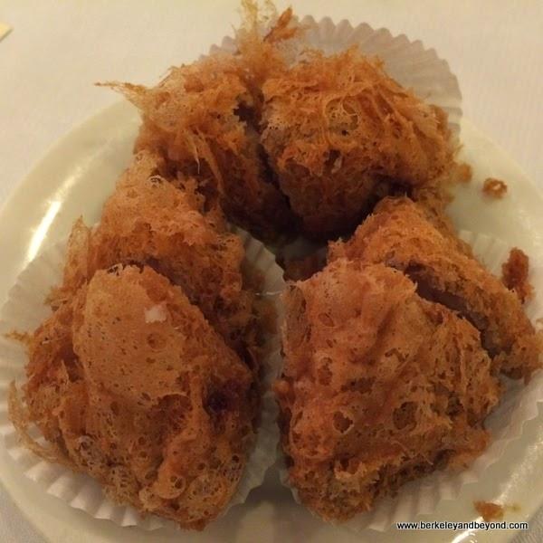 deep-fried taro balls at Great Eastern restaurant in San Francisco