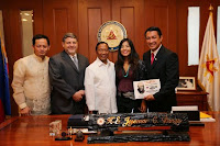 COURTESY VISIT @ OVP