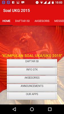 Soal UKG 2015.apk