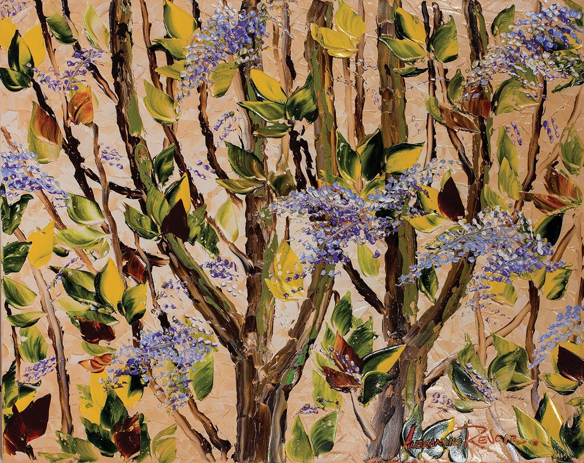 Alexandre Renoir  urst of Lilacs