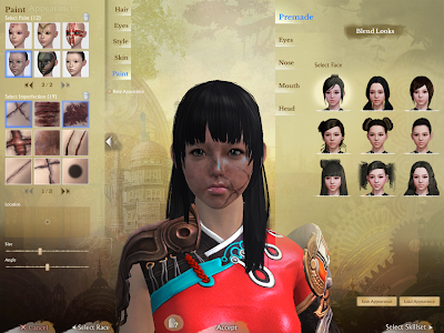ArcheAge - Character Creation Paint