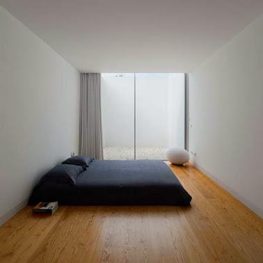 contoh desain interior kamar tidur minimalis sederhana
