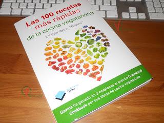 Libro Las 100 recetas ás rápidas de la cocina vegetariana.