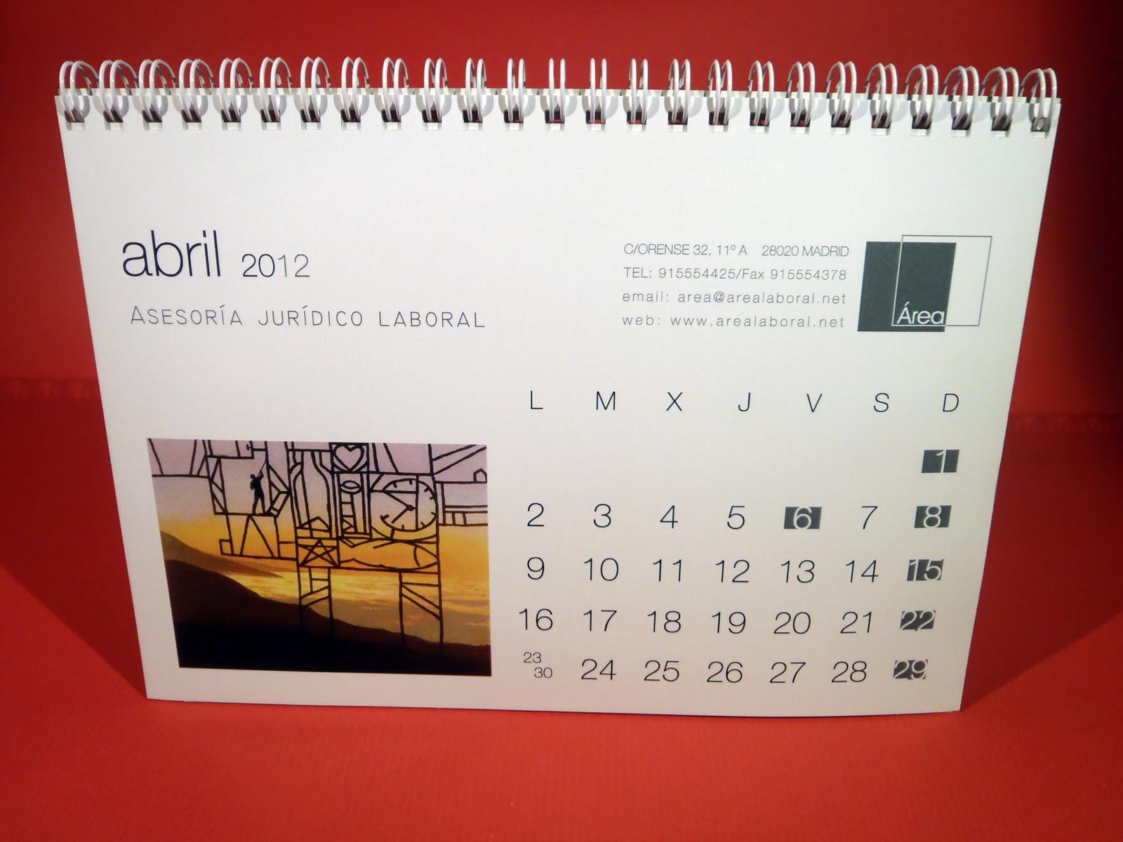 Grupo agd calendarios de mesa - Calendario de mesa ...