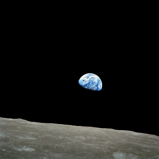O nascer da Terra