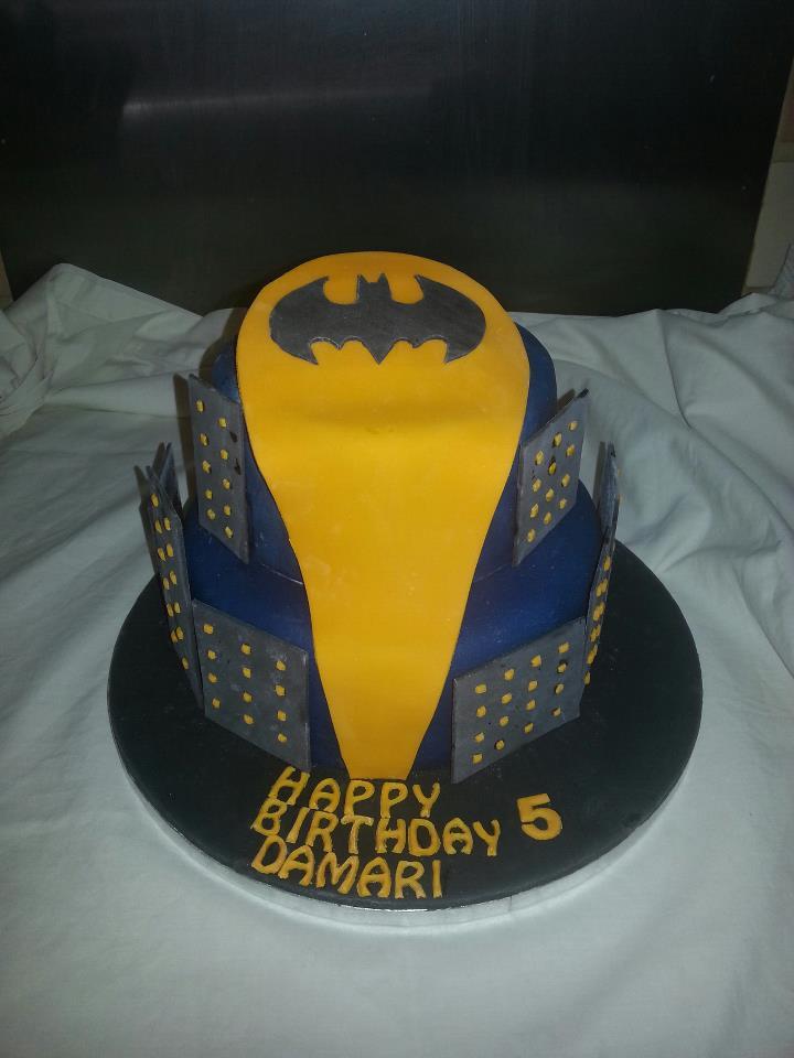Gloucester Baking Boy: Batman 2 tier birthday cake