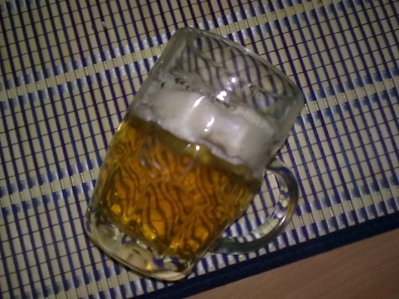 za ovu kriglu piva meni je bilo potrebno