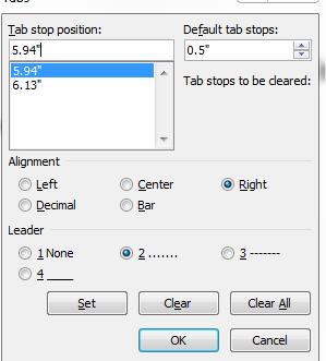 Cara membuat titik titik otomatis