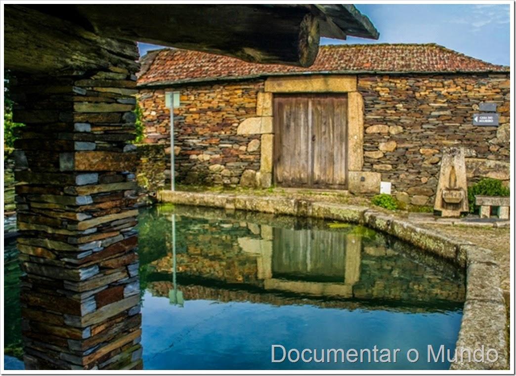 Lavadouro público; Aldeia preservada de Quintandona