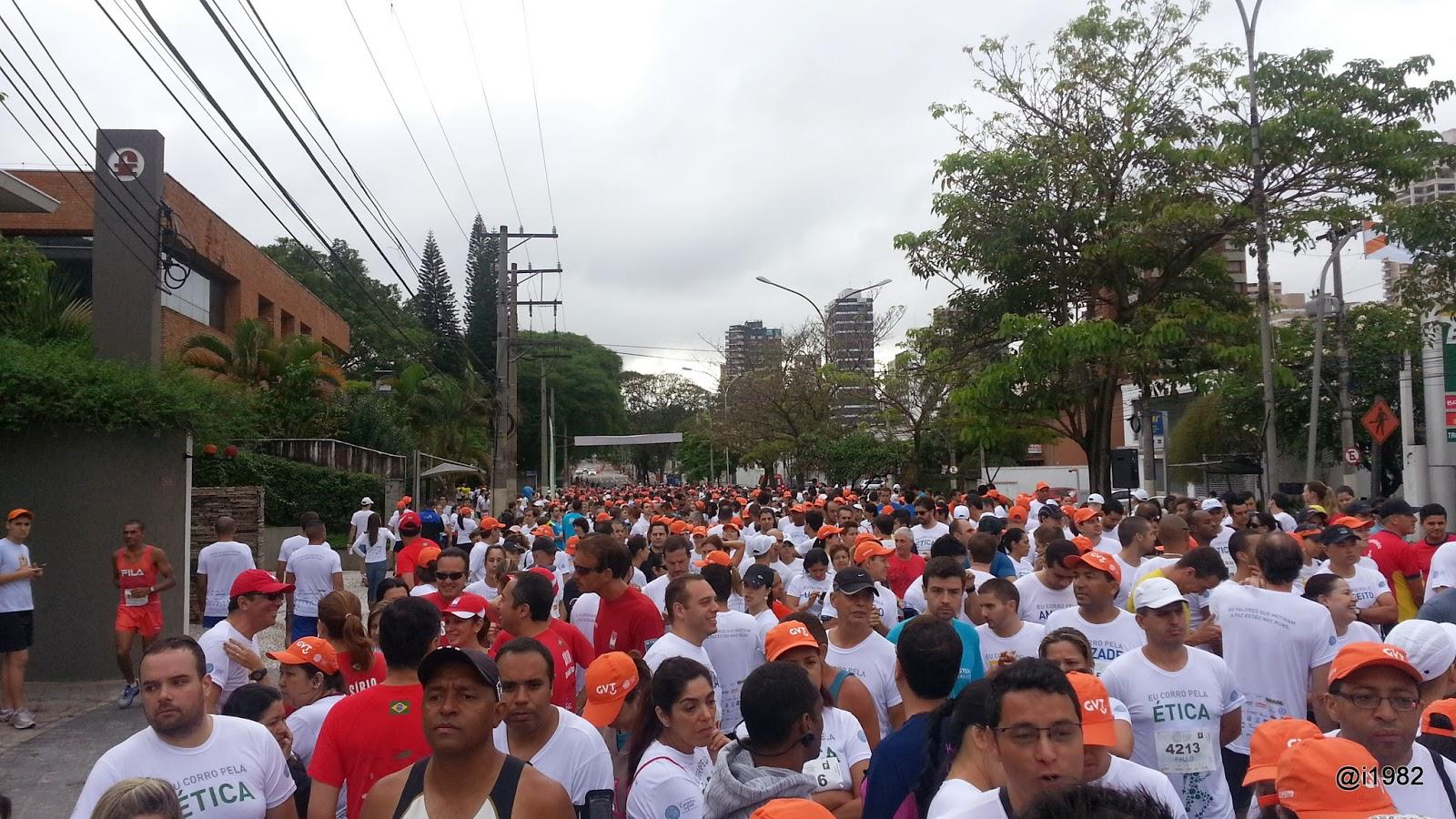 Antes da Largada - Caminho da Paz 2013