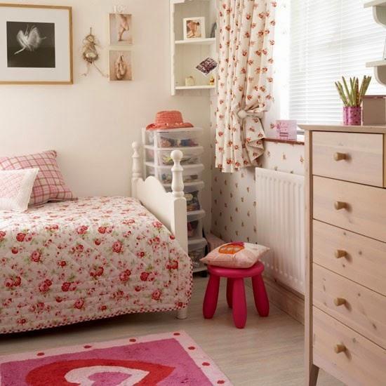 paduan cantik kamar tidur anak bergaya tradisional rumah