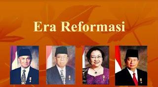 Sistem Pemerintahan Pada Masa Reformasi