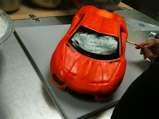 Sweet Cakes by Rebecca - Lambo Aventador car cake